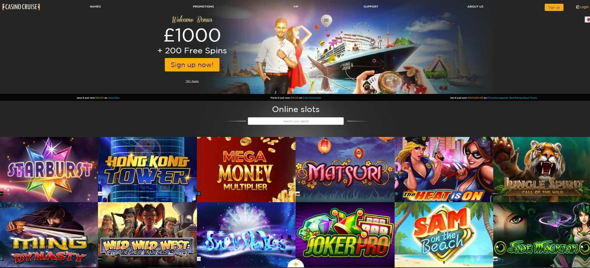 casino cruise online casino games and slots