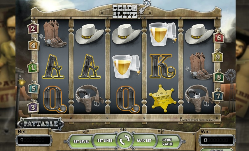 dead or alive slot netent casinos